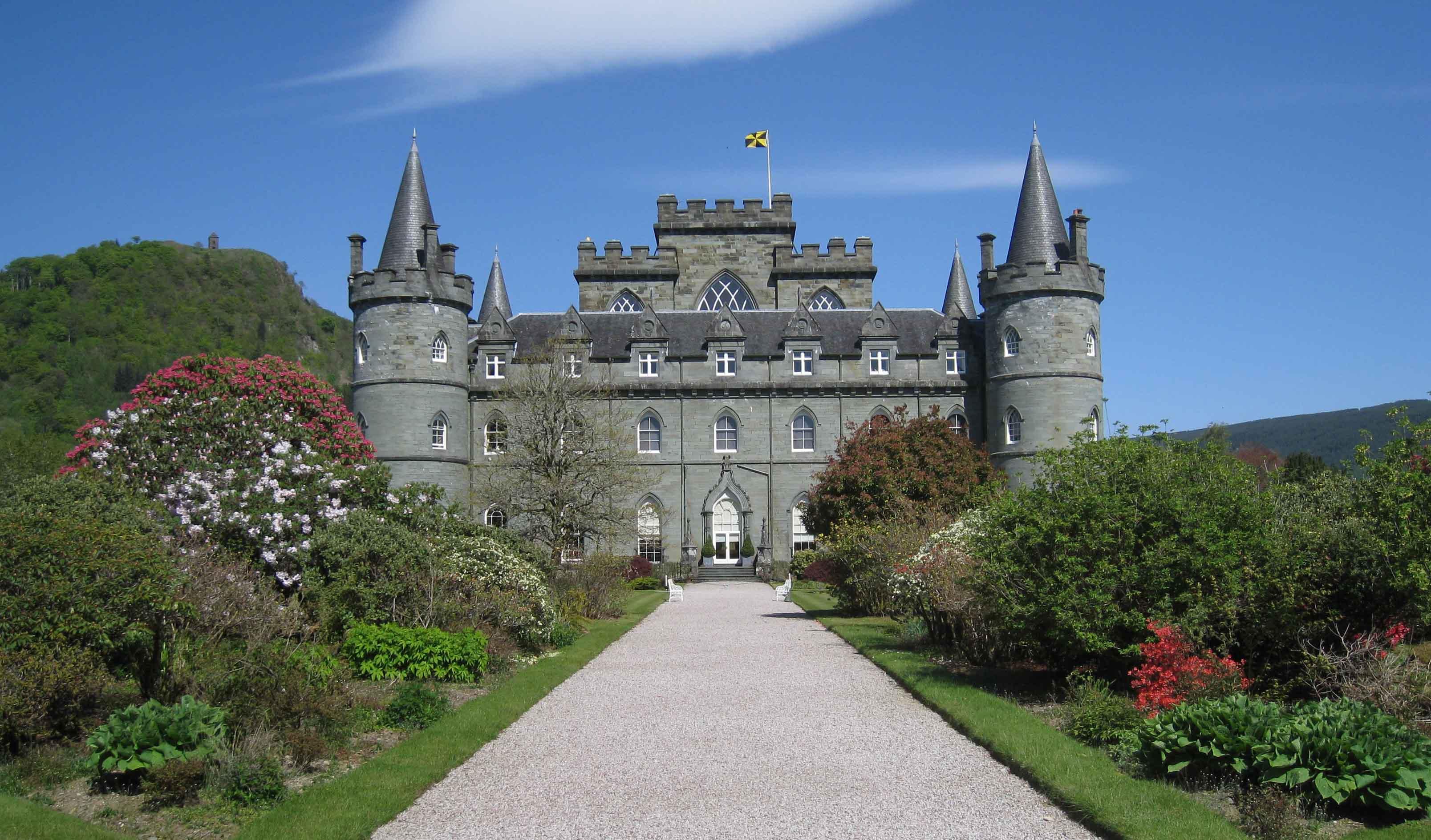 Henri Goossen Schotlandreis Schotland groepsreis kasteel