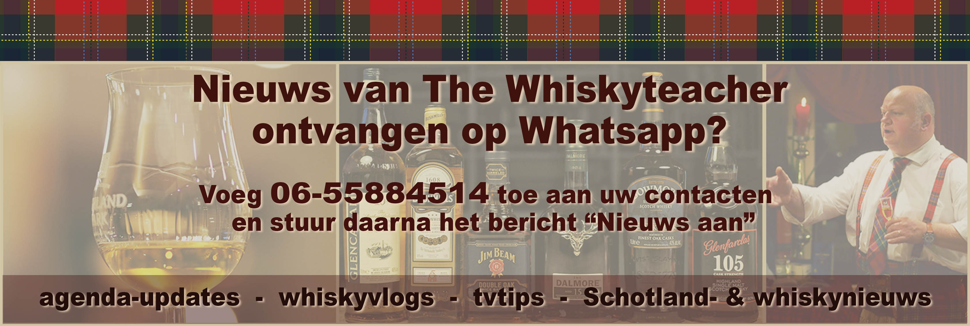 whiskynieuws - whiskyvlog - tvtips - Schotland - The Whiskyteacher - whiskyproeverij